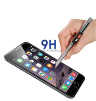 shenzhen premium tempered glass for iphone 6 glass screen protector with Round edge oleophobic coating 9h