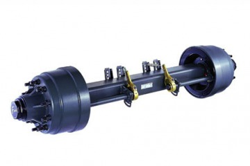Chinese factory trailer accessories trailer axle(Fuwa/BPW/Sitong)