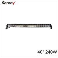 40 inch 240w super bright high power spot/flood/ combo auto led light bar for motorcycle vehicles/offroad/suv/atv/utv