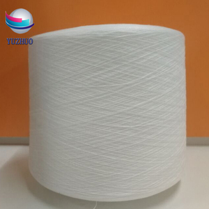 wholesale Affordable High temperature raw white 100% polyester Sewing thread