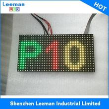 outdoor advertising board hd <strong>p10</strong> dip full color <strong>16x32</strong> led display module