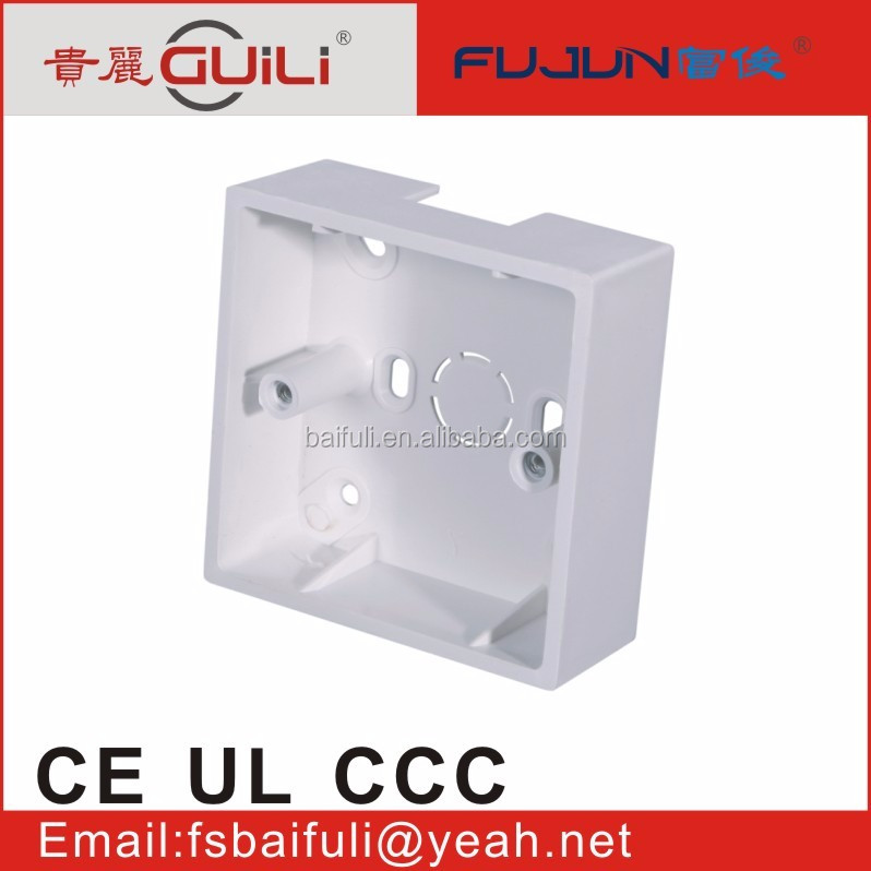top quality switches and sockets electrical wiring trunking solt box conduit box