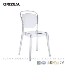 Orizeal crystal plastic banquet chair (OZ-1229)
