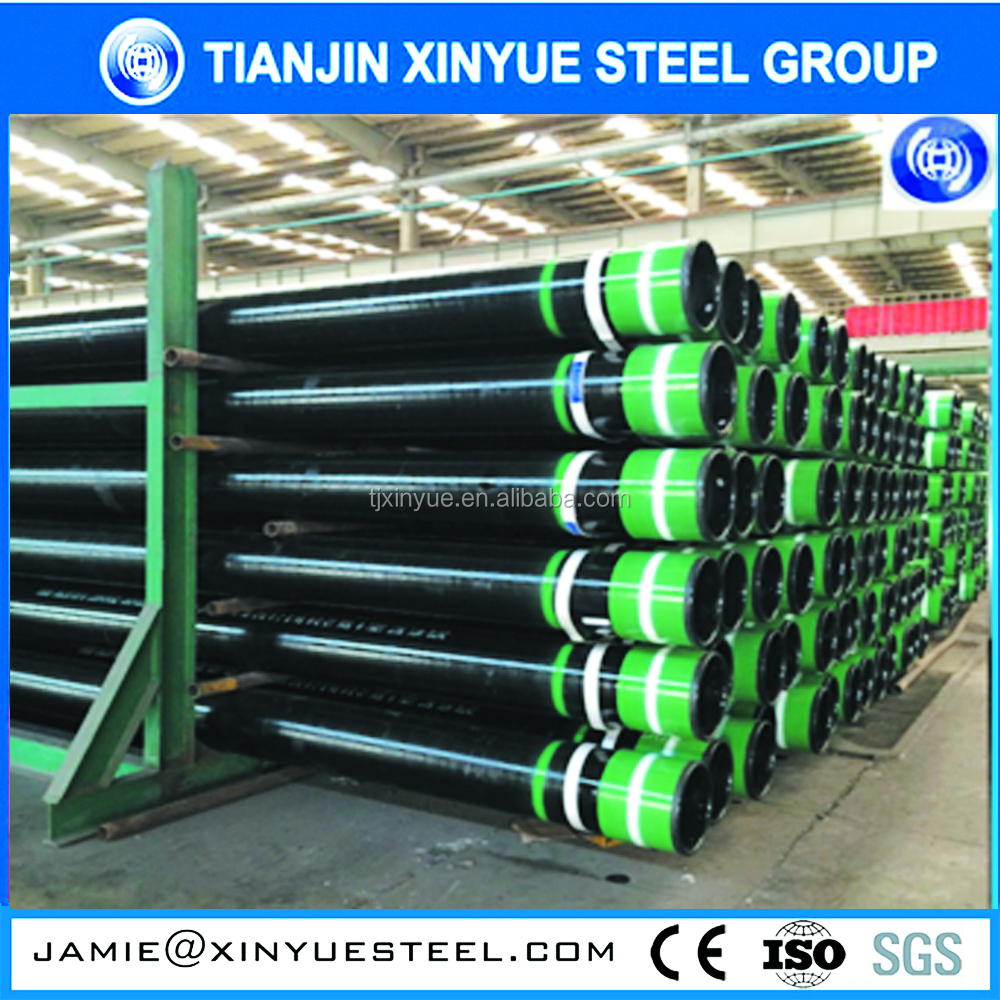 new in market k55 n80 material api 5ct steel casing pipe specification used for oil and gas