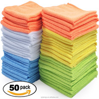 Multi purpose Microfiber Cleaning cloth /house hold microfibre cloth