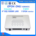 V-solution fiber optical 4 port ftth 4ge epon onu gepon