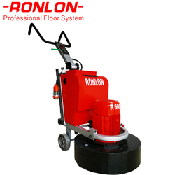 Marble and concrete floor grinder with vacuum