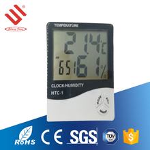 Large LCD relative humidity display household wireless wall thermometer