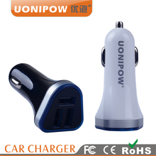 Portable Car Battery Charger Multi 3 Ports USB Mobile Vehicle Charger DC 5V 4.8A