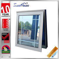 superhouse awning window aluminum window grills design pictures with AS2047 Standard