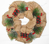 2016 Elegent Mixed Design Decor Christmas wreath for home decoration