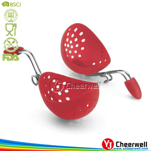 silicone egg poacher, egg boiler