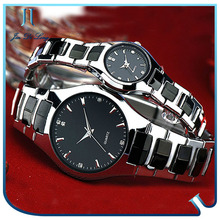 Lovers Gift Quartz Women/Mens Stainless Steel Wristwatch Good quality new products 2014
