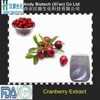 Large Stock Natural Proanthocyanidins 15% from Cranberry Extract Powder