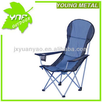 high back padded chair