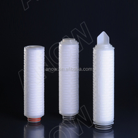 Wine and Soft Drink Porcessing High Flow Rate 0.2 micron Water Filter Cartridge