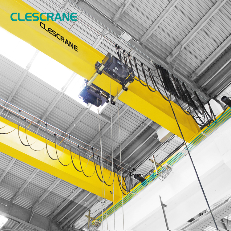 motor drive travelling single girder bridge overhead crane price 5 ton