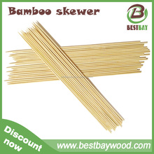 Factory monthly hot sell 18000 cartons bamboo bbq skewer