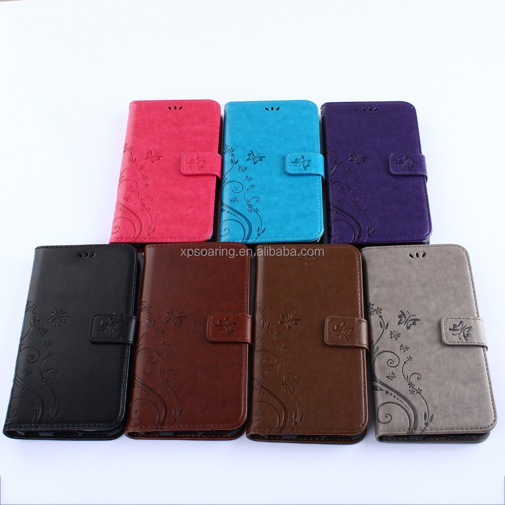 Book flip leather case for iPhone 4G 4S, Wallet solid case for iPhone 4 4S
