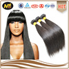 High Quality Natural Color Straight Brazilian Remy Virgin Human Hair Extension
