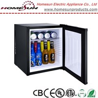 24L no noise mini bar cabinet refrigerator for hotel room