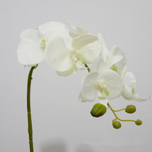 Mini silk artificial flower orchid flower export phalaenopsis orchid