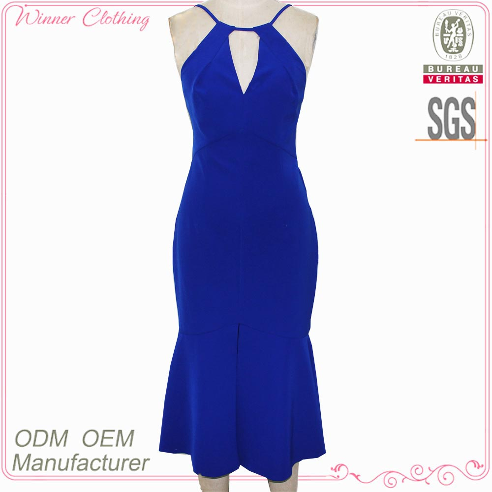 high end designer woman OEM fashion dress factory