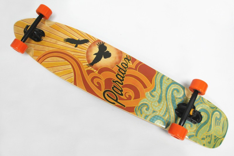 "free shipping 42"" Cruiser Complete Canadian Maple Longboard"