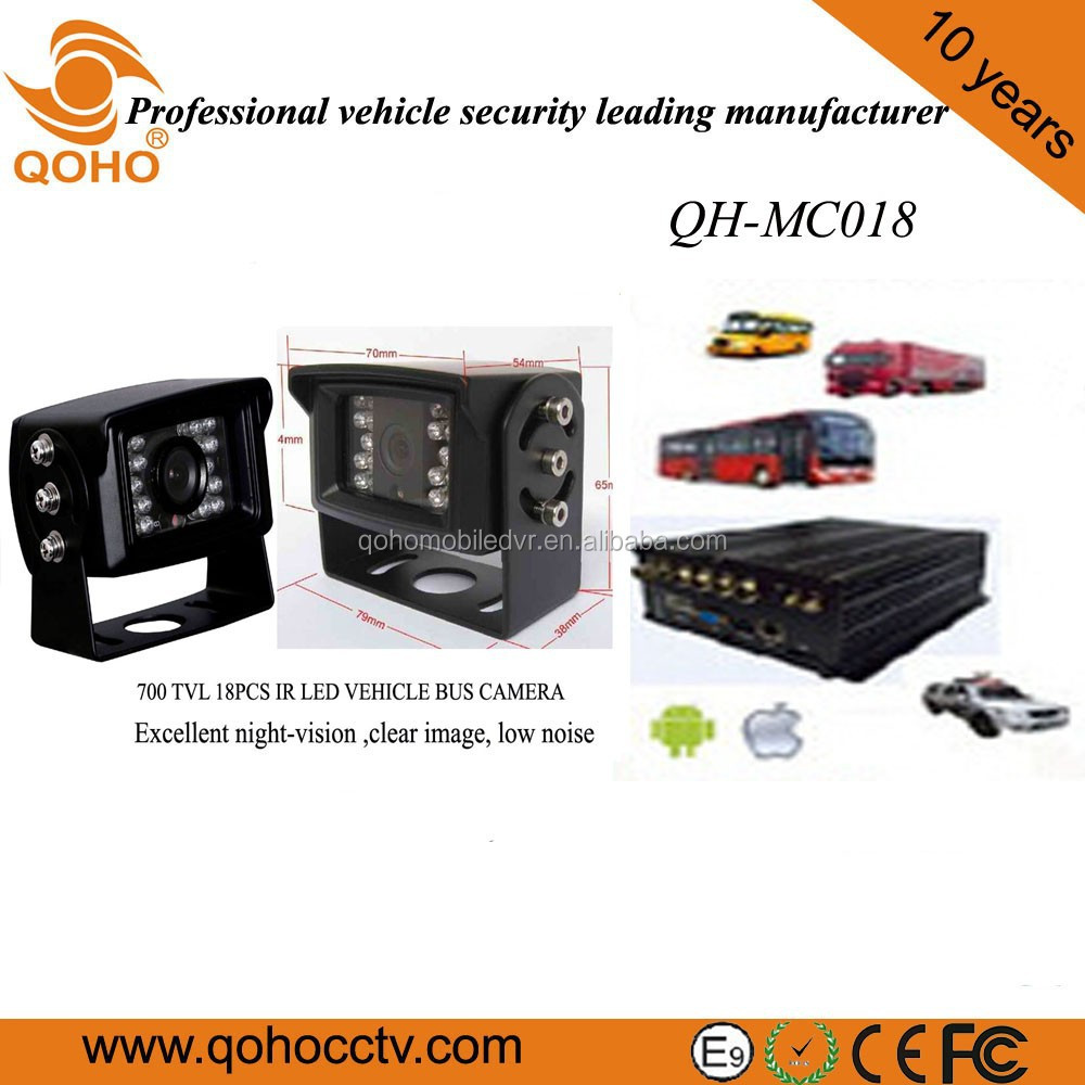 QOHO Rear View Car Camera Side DVR Vandal Proof security camera system