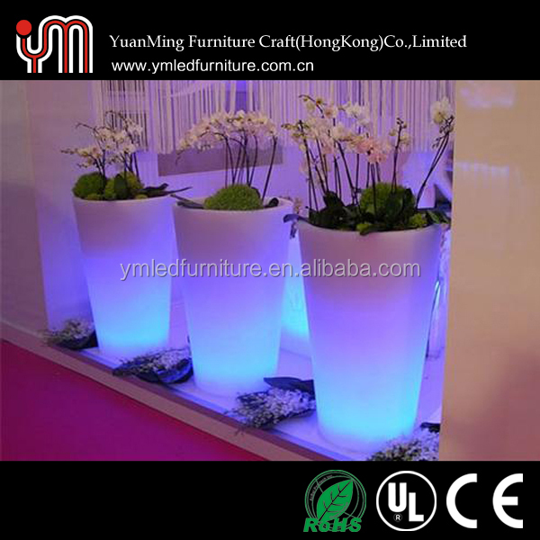 Led Planter pot,Led Light Flower Pot,Led Flower Pot
