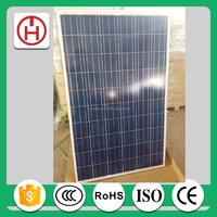 300w poly solar panel by solar panel manufacturers in China at factory price