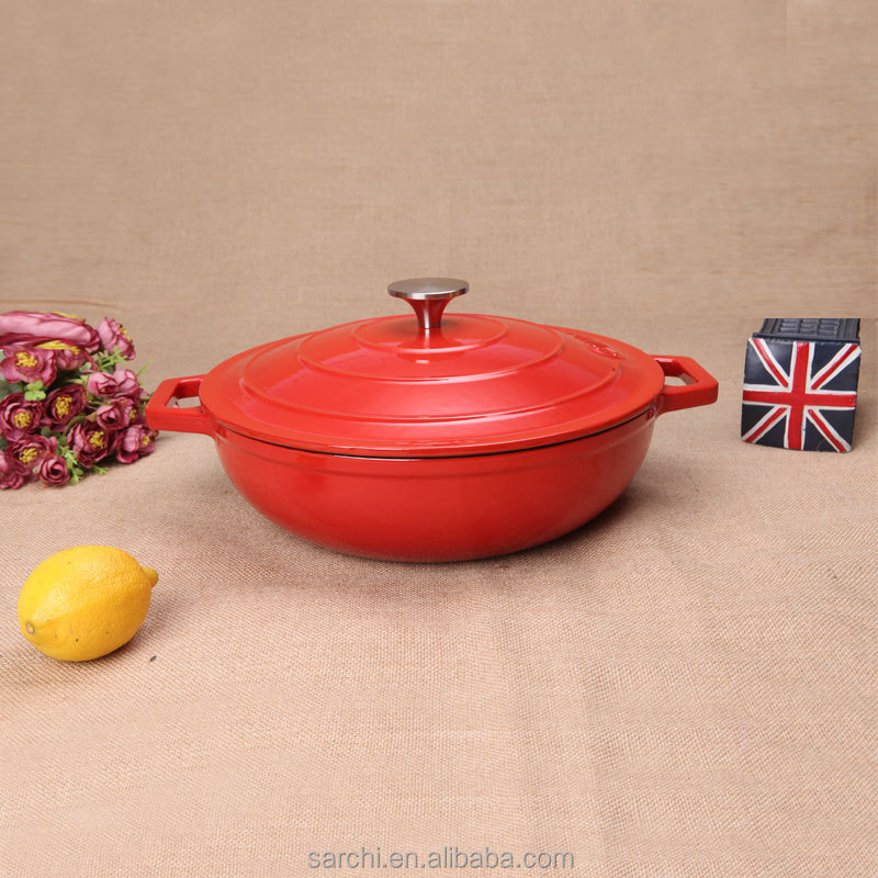 Saladmaster Cast Iron Cookware Enameled Cooking Pot