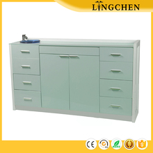 China High quality Dental instrument furniture green color customized modern dental cabinet for dental clinic