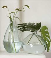 Terrarium bowl round special design flower rose glass vase home decor blown manufacturing glass