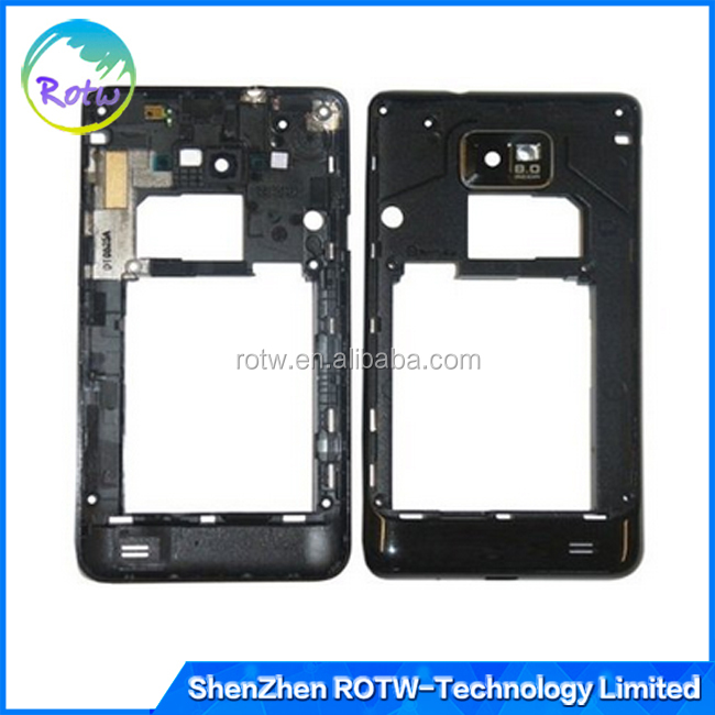 China suppliers middle housing for Samsung Galaxy S2 I9100 T989