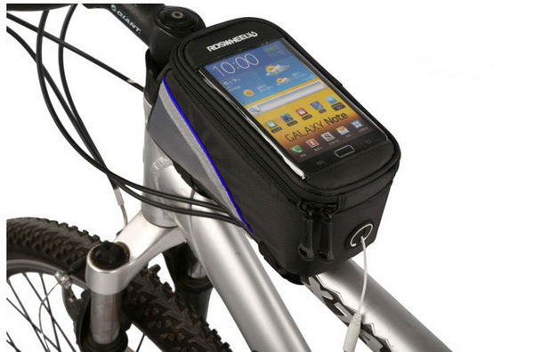 bicycle front bag for phone