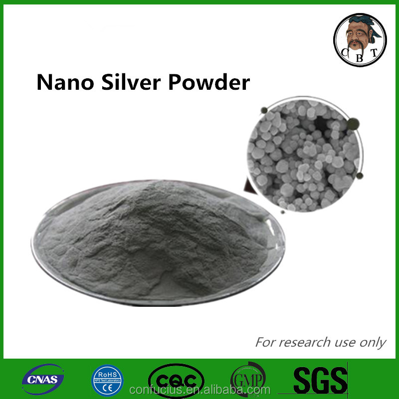99% purity Raw material Antibacterial Nano Silver powder