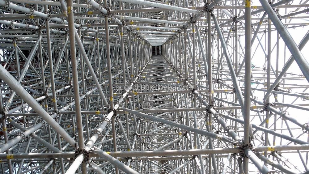 Layher Allround Vertical Patent Shoring Scaffold
