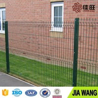 Welded Wire Mesh Fence Panels with post