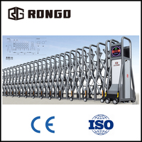 Rongo automatic welcomed design factory entry door /gate
