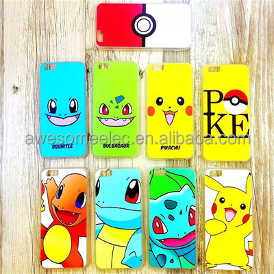 August New Pokemon Go Ball Mobile Phone Case, Pokeball TPU Phone Case, Pokemon Mobile phone backcover case