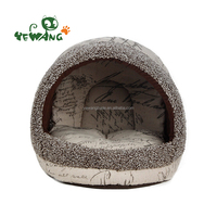 The sisal cat house of enclosed cat bed for rest