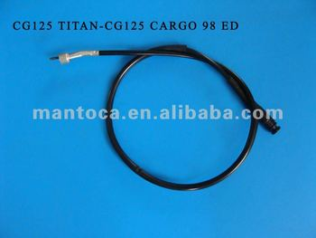 Speedometer cable for CG125 TITAN-CG125 CARGO 98 ED OEM No. 44830-KCH-9000