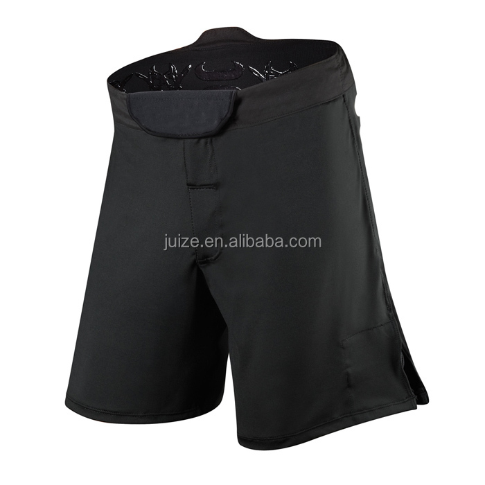 Cheapest wholesale Blank Mma Shorts Black For Men