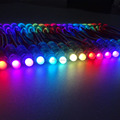 Intelligent UCS1903 DC12V pixel Christmas light string round 12mm waterproof ip68 digital changing color