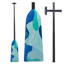 Wholesale Carbon Fiber IDBF Standard Racing Dragon Boat Paddle with Rubber Grip