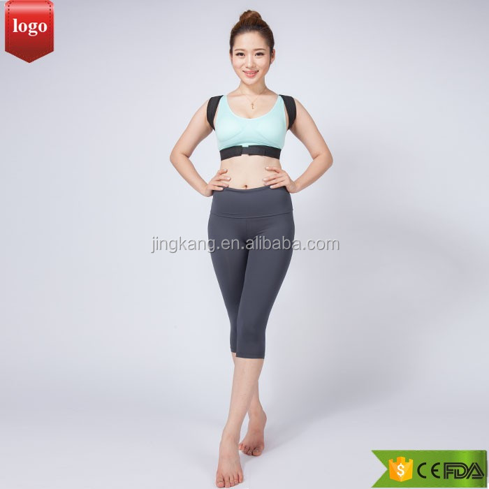 factory Lady Chest Support Belt Band Posture Corrector Brace/posture correction belt/clavicle support