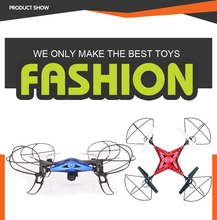 2.4G RC die cast quadcopter 6 axis gyro drone racer from china factory