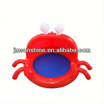 inflatable baby boat with toys