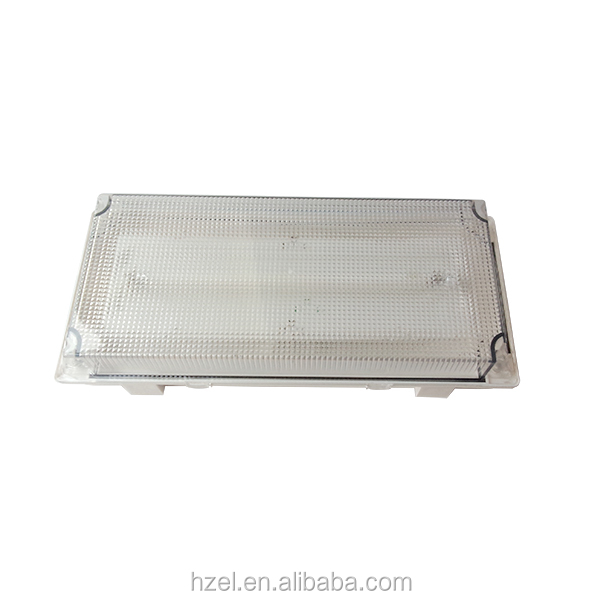 IP65 Emergency Industrial Fluorescent Tube Light Fixtures